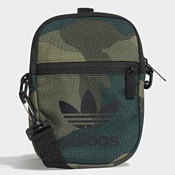 Adidas Originals - Sacoche Festival FM1350 Vert Kaki Camouflage
