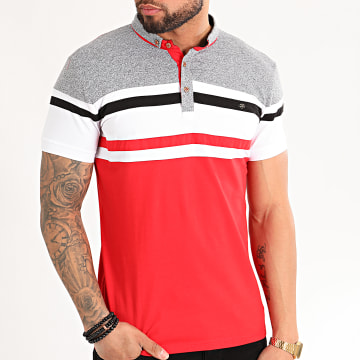 Classic Series - Polo Manches Courtes 10124 Rouge