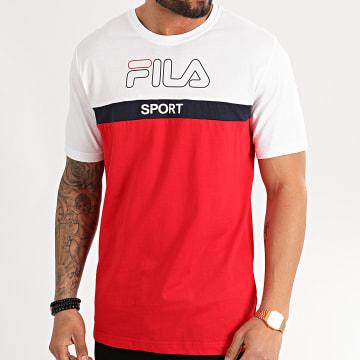 Tee Shirt Lars 683084 Rouge Blanc