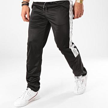 Fila - Pantalon Jogging A Bandes Leo 683094 Noir