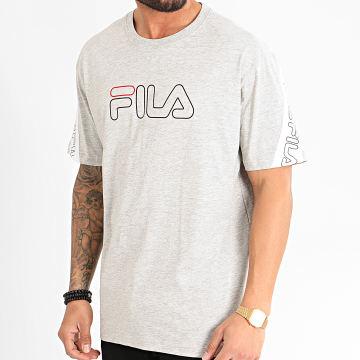 Fila - Tee Shirt Loe 683095 Gris Chiné