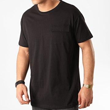 Tee Shirt Poche 13812 Noir