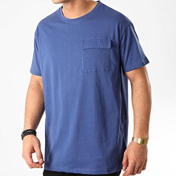 Tee Shirt Poche 13812 Bleu