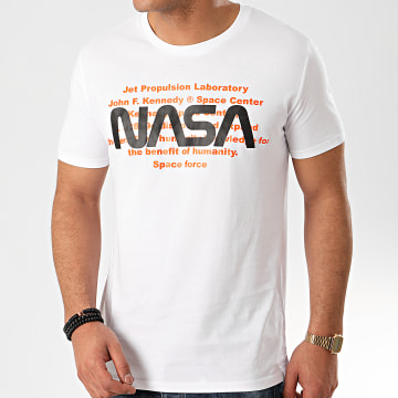 Tee Shirt Space Force Blanc