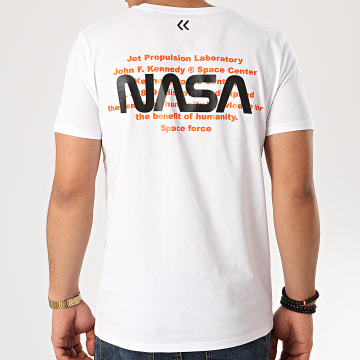 Tee Shirt Space Force Back Blanc