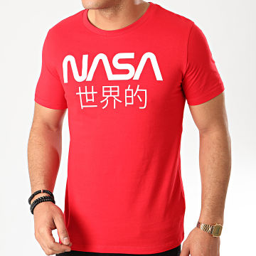 Tee Shirt Japan Rouge Blanc