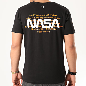 Tee Shirt Space Force Back Noir