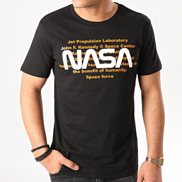 Tee Shirt Space Force Noir