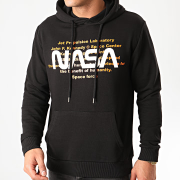 Sweat Capuche Space Force Noir