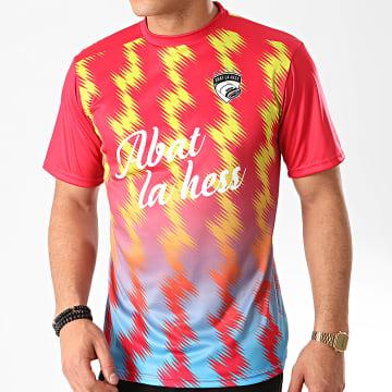 OhMonDieuSalva - Tee Shirt Thunder Rouge Bleu