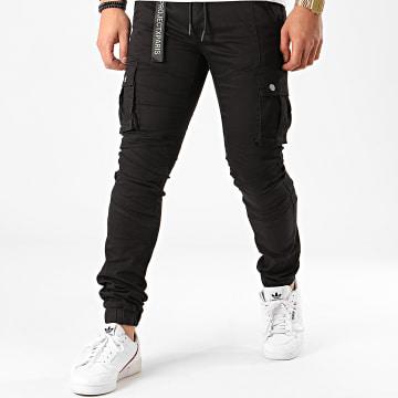 Project X - Jogger Pant Jean Noir