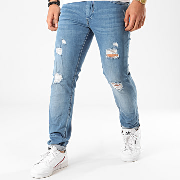Tiffosi - Jean Slim Liam Bleu Denim