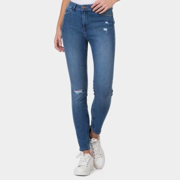 Tiffosi - Jean Slim Femme Body Curve 50 Bleu Denim