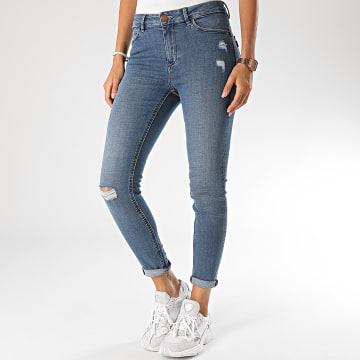 Tiffosi - Jean Slim Femme Body Curve 50 Bleu Denim