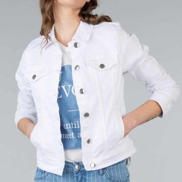Tiffosi - Veste Jean Femme Turdy 3 Blanc