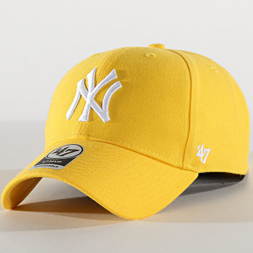 '47 Brand - Casquette MVP Adjustable MVPSP17WBP New York Yankees Jaune