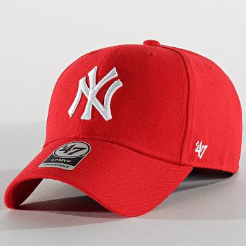 Casquette MVP Adjustable MVPSP17WBP New York Yankees Rouge