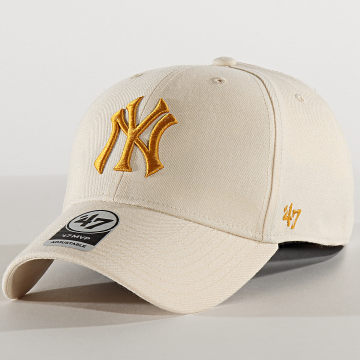 Casquette MVP Adjustable MVPSP17WBP New York Yankees Beige