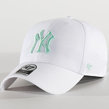 Casquette MVP Adjustable MVPSP17WBP New York Yankees Blanc Vert