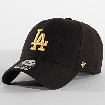 '47 Brand - Casquette MVP Adjustable MVPSP12WBP Los Angeles Dodgers Noir Jaune