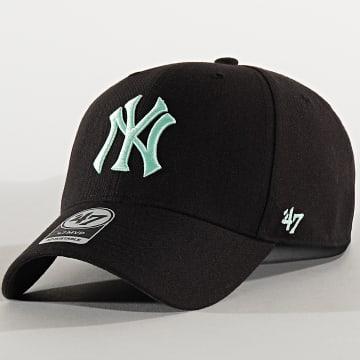 Casquette MVP Adjustable MVPSP17WBP New York Yankees Noir Vert