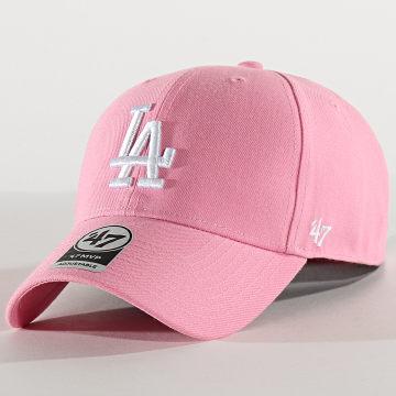 '47 Brand - Casquette MVP Adjustable MVPSP12WBP Los Angeles Dodgers Rose
