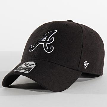 Casquette MVP Adjustable MVPSP01WBP Atlanta Braves Noir