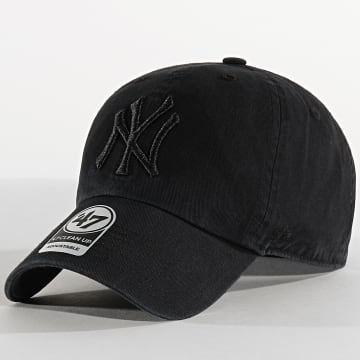 '47 Brand - Casquette '47 Clean Up Adjustable RGW17GWSNL New York Yankees Noir Noir
