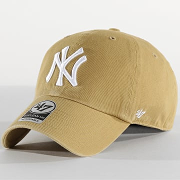 '47 Brand - Casquette '47 Clean Up Adjustable RGW17GWSNL New York Yankees Vert Kaki