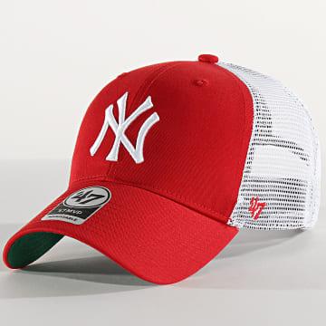 Casquette Trucker MVP Adjustable BRANS17CTP New York Yankees Rouge