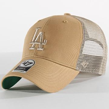 Casquette Trucker MVP Adjustable BRANS12CTP Los Angeles Dodgers Café