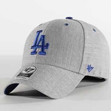 Casquette MVP Adjustable Storm Cloud STMCD12WHV Los Angeles Dodgers Gris Bleu Roi