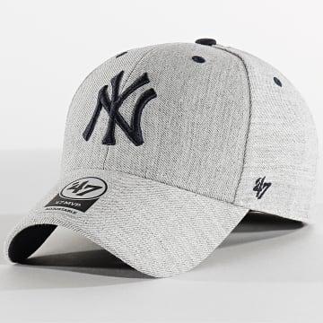 '47 Brand - Casquette MVP Adjustable Storm Cloud STMCD17WHV New York Yankees Gris Bleu Marine