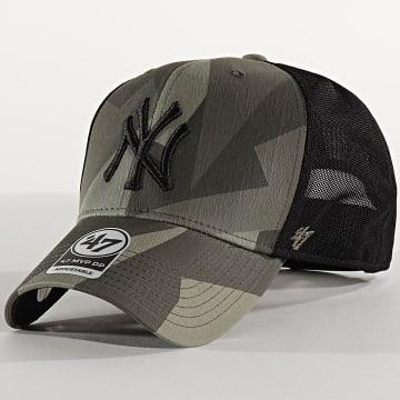 Casquette Trucker MVP DP Adjustable CNTSM17XCP New York Yankees Camo Vert Kaki