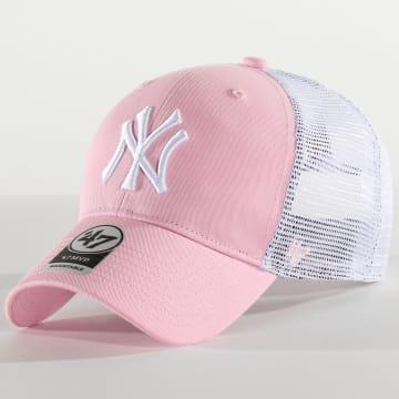Casquette Trucker MVP Adjustable BRANS17CTP New York Yankees Rose