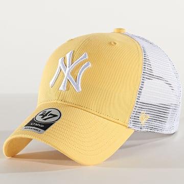 Casquette Trucker MVP Adjustable BRANS17CTP New York Yankees Jaune