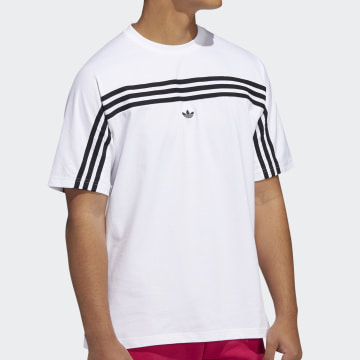 Adidas Originals - Tee Shirt FM1529 Blanc