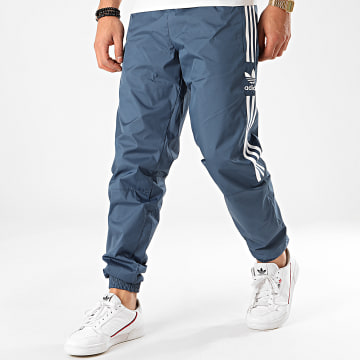 Adidas Originals - Pantalon Jogging A Bandes Lock Up FM9885 Bleu