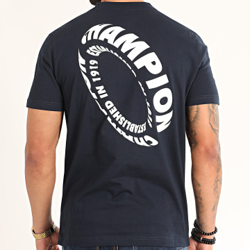 Champion - Tee Shirt 214228 Bleu Marine