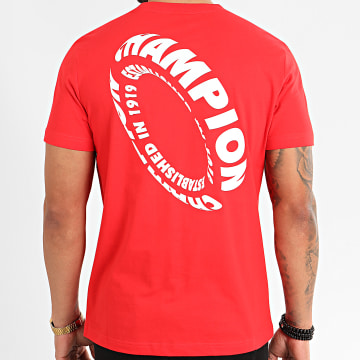 Champion - Tee Shirt 214228 Rouge