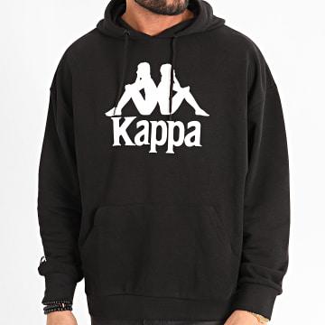 Kappa - Sweat Capuche Authentic Tenax 3111GBW Noir