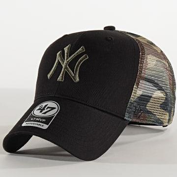 Casquette Trucker MVP Adjustable BCKSW17CTP New York Yankees Camo Noir