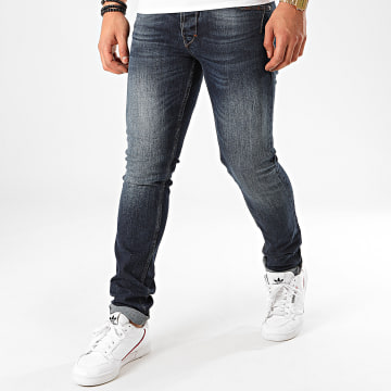 Redskins - Jean Slim Hammon Peacher Bleu Denim