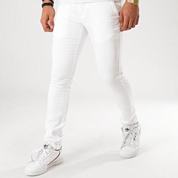 Redskins - Pantalon Chino Hello Tall Blanc
