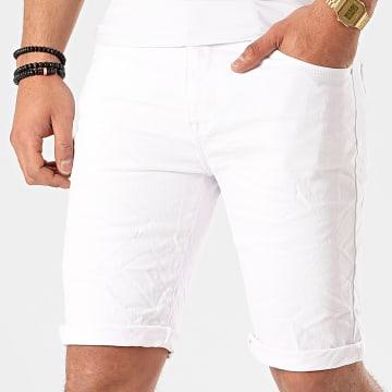 Terance Kole - Short Jean 11016 Blanc
