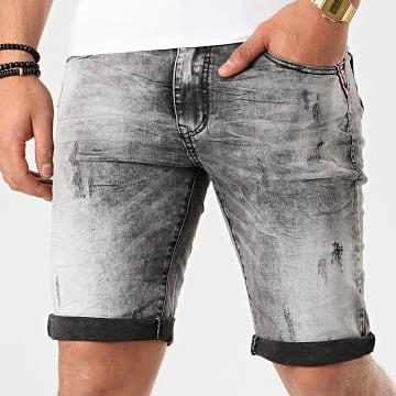 Terance Kole - Short Jean Skinny 18008 Gris