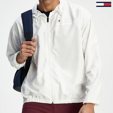 Tommy Sport - Coupe-Vent Logo 0355 Blanc