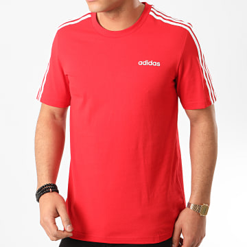 Tee Shirt A Bandes Essential FS9752 Rouge