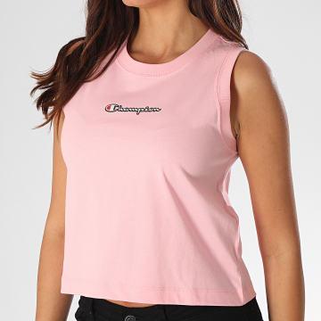 Champion - Débardeur Crop Femme 112654 Rose