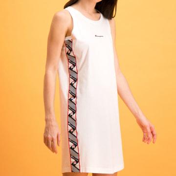 Champion - Robe Femme 112769 Blanc